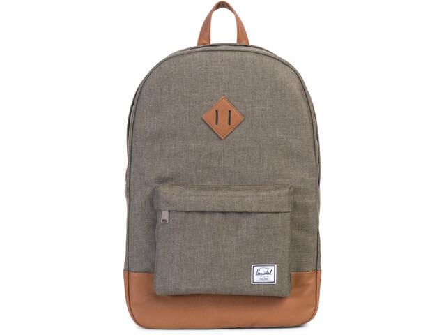 Herschel Heritage Backpack canteen crosshatch/tan